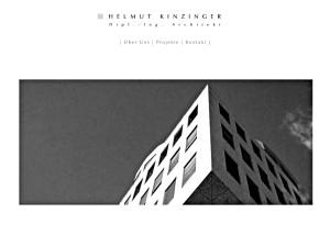 Architekt Helmut Kinzinger