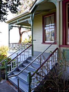 Devonport und die alten Treppen von Auckland